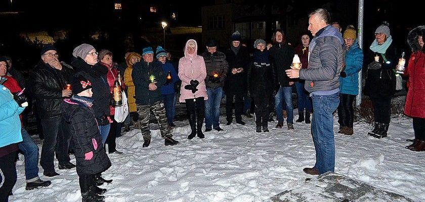 Jedlinianie uczcili pamięć prezydenta Adamowicza.