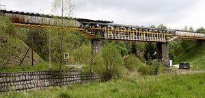 Trwają prace na linii kolejowej nr 285.