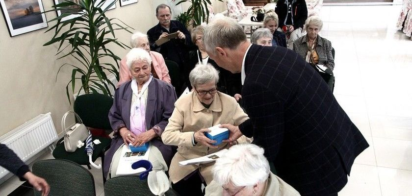 Nasi Seniorzy mogą czuć się bezpieczniej.