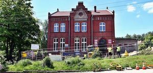 Trwa przebudowa Centrum Socjalnego.