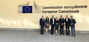 Burmistrz Miasta z roboczą wizytą w Brukseli