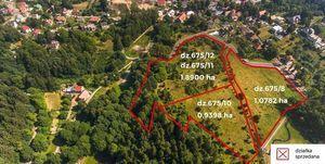 Działka nr 675/11 i 675/12 o łącznej powierzchni 1,8900 ha ul. Spacerowa