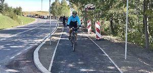 Rowerem z Jedliny do Wałbrzycha