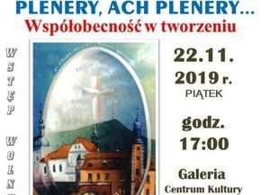 """Plenery, ach plenery..."""