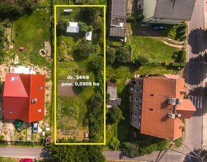 Działka nr 344/8 o powierzchni 0,0908 ha przy ul. Józefa Bema