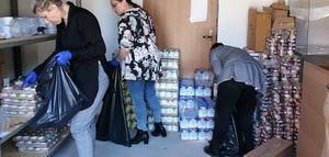180 osób otrzymało pomoc żywnościową w okresie przedświątecznym