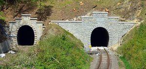 Tunel w remoncie