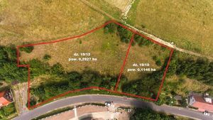 Działka niezabudowana nr 19/12 o powierzchni 0,2927 ha ul. Moniuszki