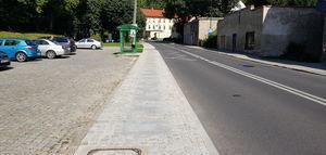 Wyremontowane chodniki