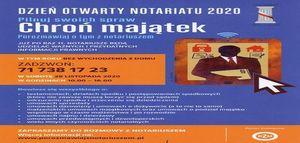 Dzień otwarty Notariatu
