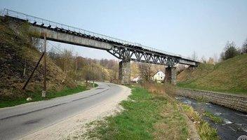 Zabytki - Zabytkowy most kolejowy, ul. Świdnicka