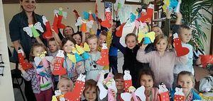 Pierwsze warsztaty rękodzieła o tematyce  świątecznej.