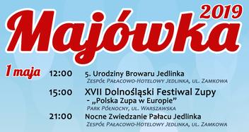 MAJÓWKA 2019 w Jedlinie-Zdroju.