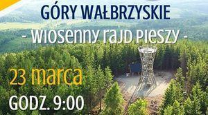 Góry Wałbrzyskie - Wiosenny Rajd Pieszy.