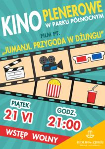 Kino Plenerowe w Parku Północnym.