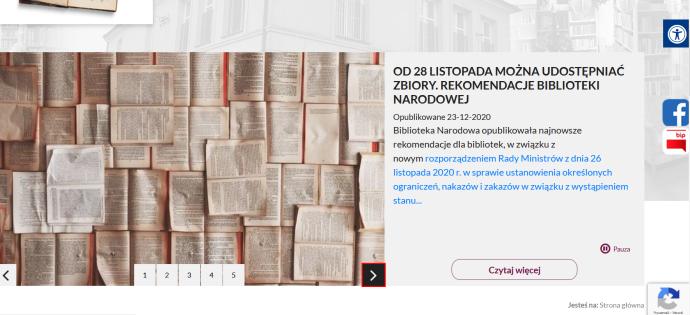 Zapraszamy do odwiedzania nowej strony Gminnej Biblioteki Publicznej