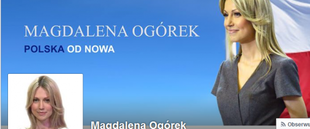 Czy faceci zagłosują na Magdalenę Ogórek?