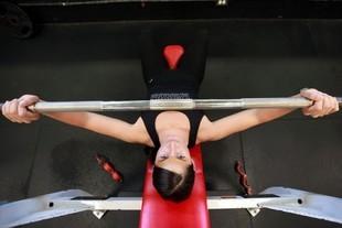 Orgazm podczas treningu