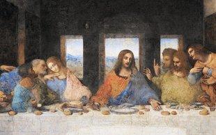 Czy Leonardo da Vinci zapisał datę końca świata na  Ostatniej Wieczerzy?