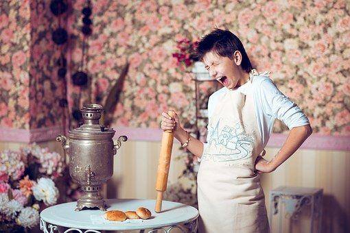 Ważne jest nie tylko to co jemy, ale też kto i w jakim nastroju przygotowywał posiłek!