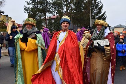 Orszak Trzech Króli przeszedł ulicami Krasnegostawu