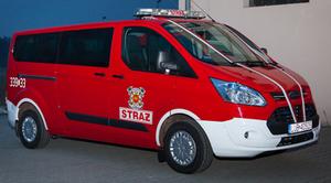 Samochód dla OSP Niemce