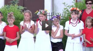 VIDEO - Szkoła w Rudce Kozłowieckiej ma swój sztandar