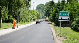 Długo oczekiwany remont drogi powiatowej w Leonowie
