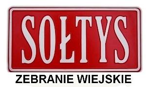 Zebranie sołeckie 30.08.2014 Elizówka
