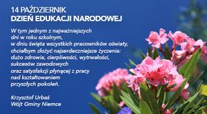 14 październik Dzień Edukacji Narodowej