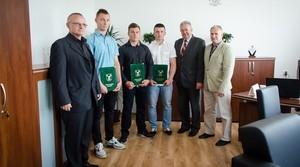 Wybitni sportowcy z naszej gminy wyróżnieni przez Wójta