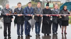 Największa inwestycja drogowa w Gminie Niemce oficjalnie otwarta