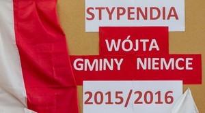Najzdolniejsi uczniowie nagrodzeni Stypendium Wójta Gminy Niemce