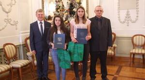 Zawodniczki GULKS Niemce nagrodzone przez Starostę Lubartowskiego