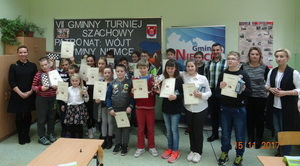 VII Gminny Turniej Szachowy w Jakubowicach Konińskich