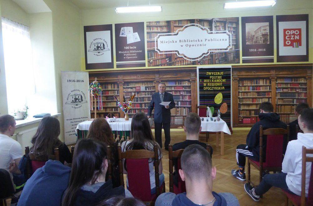 Spotkanie z etnografem panem dr Janem Łuczkowskim