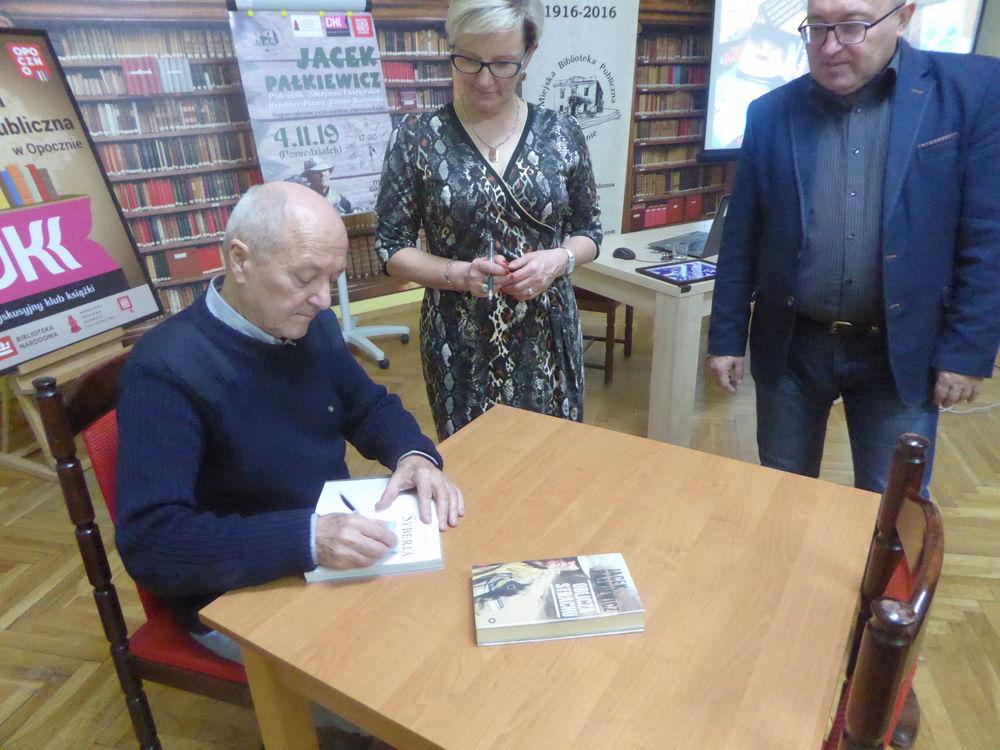 Fotorelacja ze spotkania z panem Jackiem Pałkiewiczem – podróżnikiem, odkrywcą i reporterem.