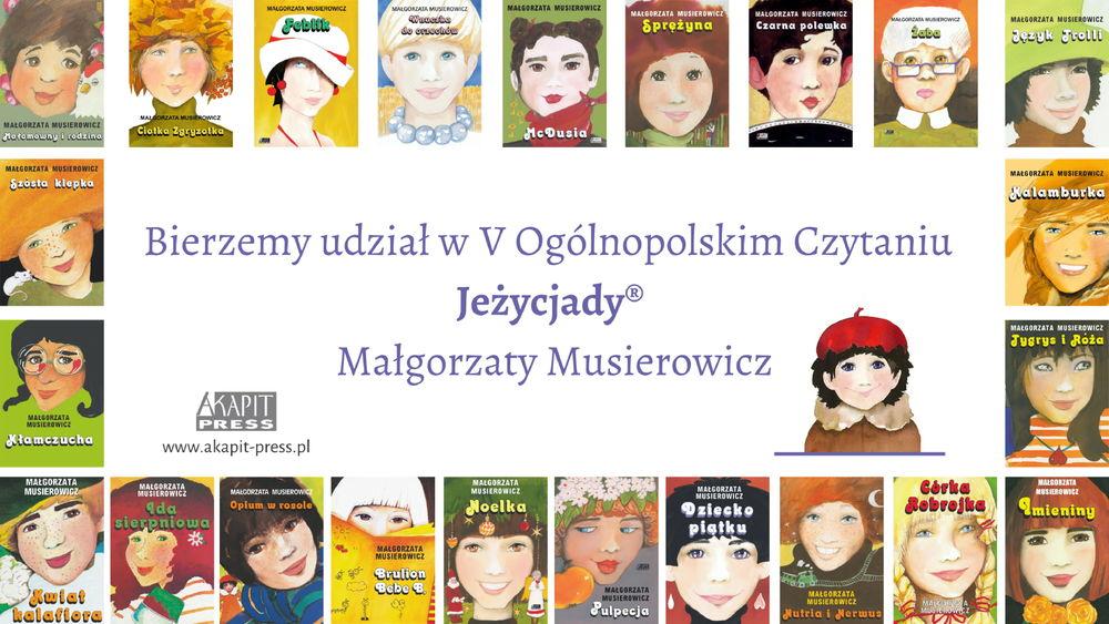 V Ogólnopolske Czytanie Jeżycjady Małgorzaty Musierowicz