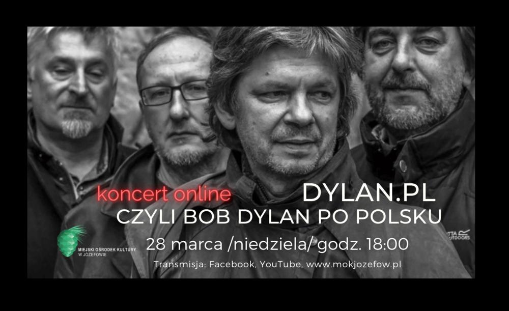 Bob Dylan - wydarzenie online