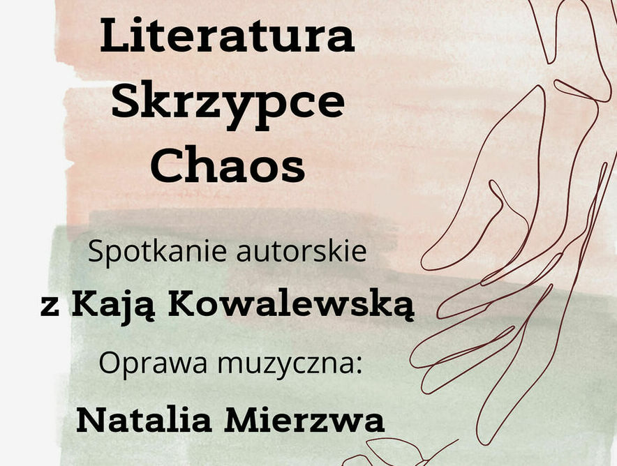 Spotkanie autorskie z Kają Kowalewską