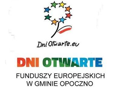 DNI OTWARTE FUNDUSZY EUROPEJSKICH W GMINIE OPOCZNO