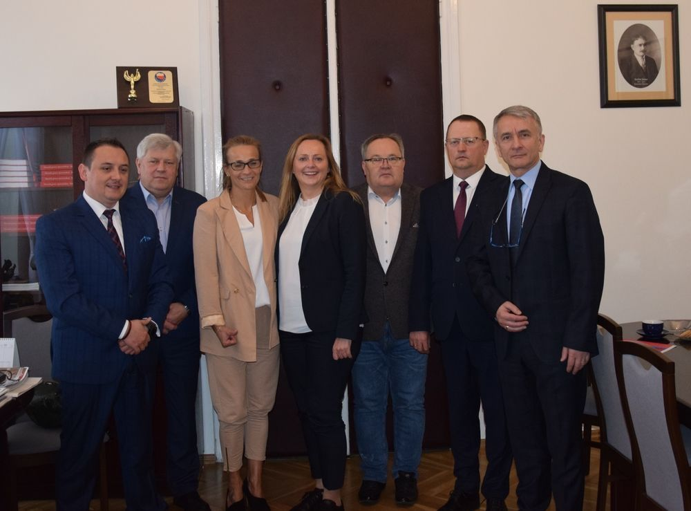 Spotkanie Samorządowców  z Joanną Skrzydlewską