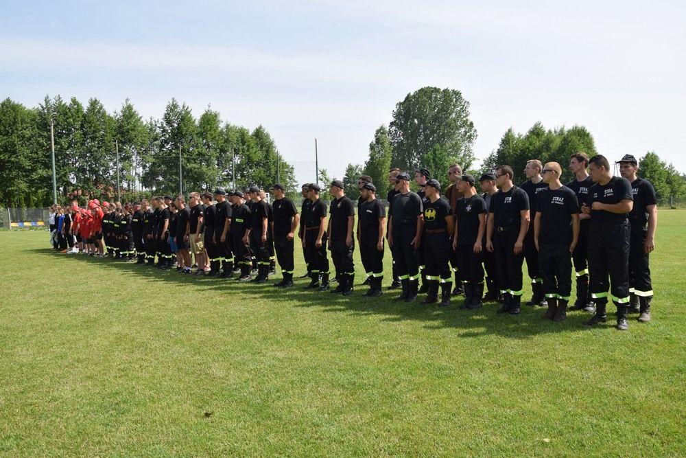Gminne zawody strażackie