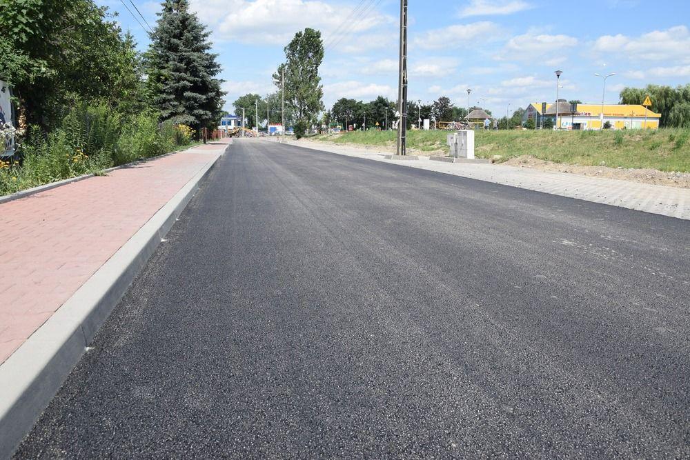 Ulica Wałowa oddana do użytku