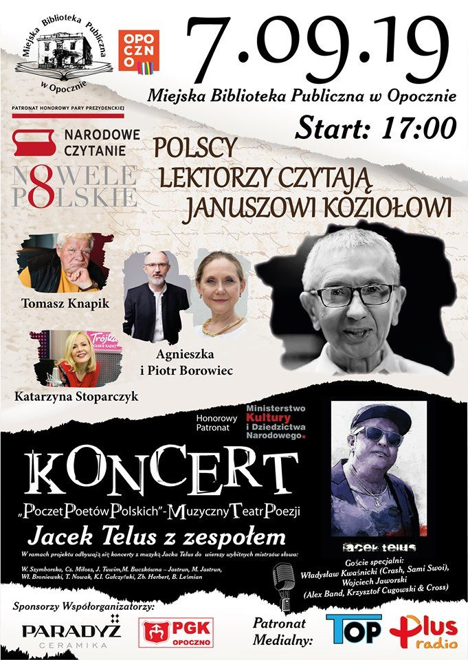 Polscy lektorzy czytają Januszowi Koziołowi