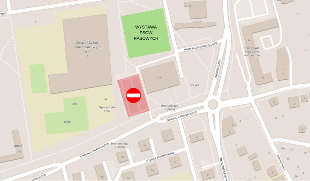 15 września 2019 r. - parking zamknięty