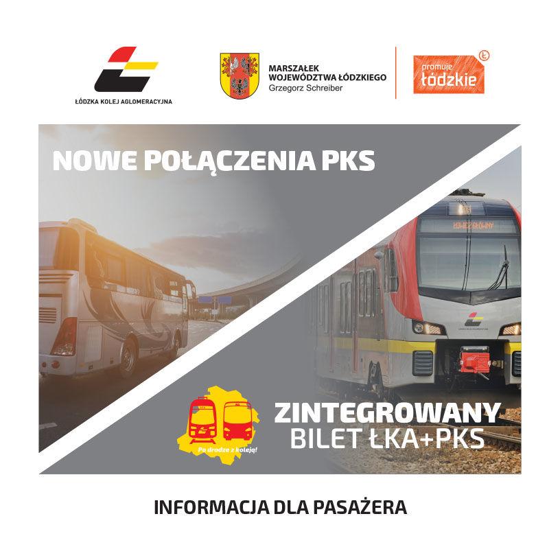Zintegrowany bilet ŁKA + PKS