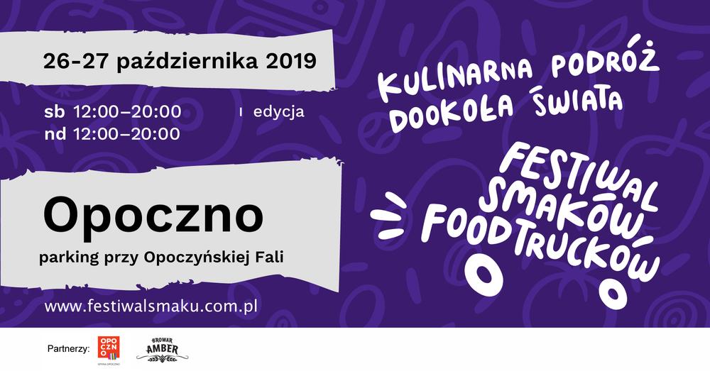 I Festiwal Smaków Food Trucków w Opocznie.