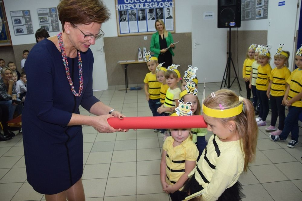 Uroczyste ślubowanie w Szkole Podstawowej im. Tadeusza Sygietyńskiego w Bukowcu Opoczyńskim