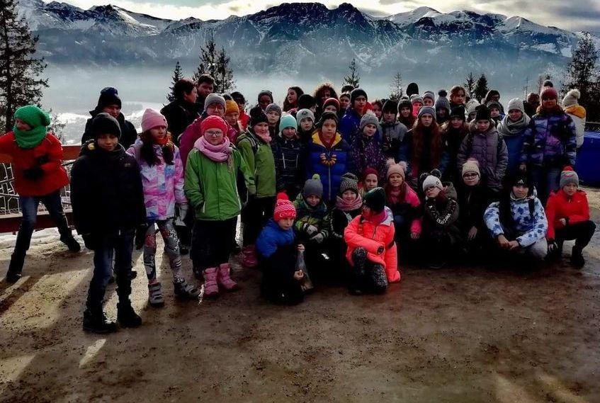 Szaleństwo na nartach
